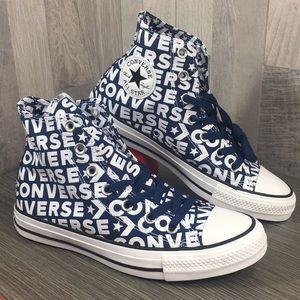 Converse CTAS Hi Navy/White